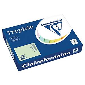 Clairefontaine Trophée 1975 coloured paper A4 80g green - pack of 500 sheets