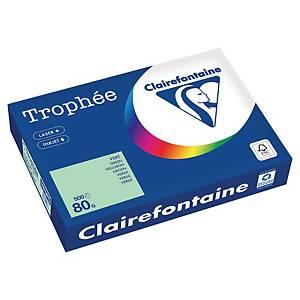Papier couleur A4 Clairefontaine Trophée - 80 g - vert - 500 feuilles