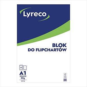 FLIP-CHART PAD 30 SLIPS CHEQUER