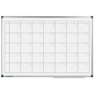 Whiteboardtavle Legamaster, ugeplan, 60 x 90 cm