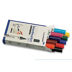 Whiteboardmarker Legamaster TZ1, rund, etui a 10 farver