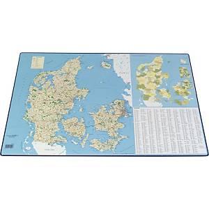 Skriveunderlag Bantex Danmarkskort