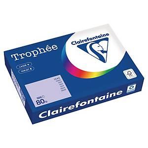 Papier couleur A4 Clairefontaine Trophée - 80 g - lilas - 500 feuilles