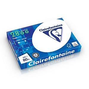Clairefontaine 2252 wit A3 papier, 80 g, per doos van 5 x 500 vellen