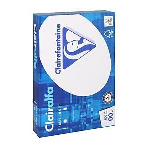 Clairefontaine papier blanc 2896 A4 90g - ramette de 500 feuilles