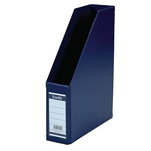 BANTEX COLLAPSIBLE BLUE A4 MAGAZINE FILE 7CM