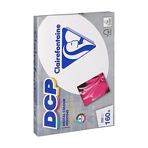 Clairefontaine DCP white paper for colourlaser A4 160g - pack of 250 sheets