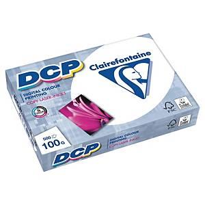 DCP กระดาษสำหรับงานพิมพ์สี A4 100 แกรม ขาว 1 รีม 500แผ่น