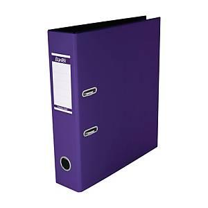 Bantex PVC Lever Arch File A4 3 inch Lilas