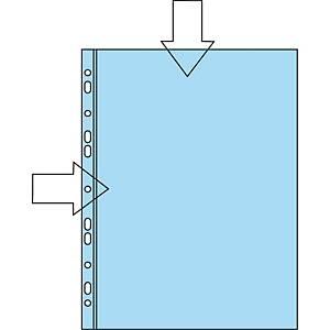 Plastlomme Bantex, med huller, A4, 110 µm, pose a 100 stk.