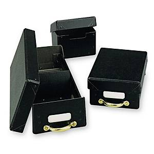A-500 ARCHIVE BOX FIBER BLK