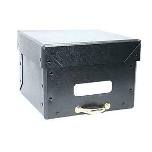 A5-500 ARCHIVE BOX FIBER BLK