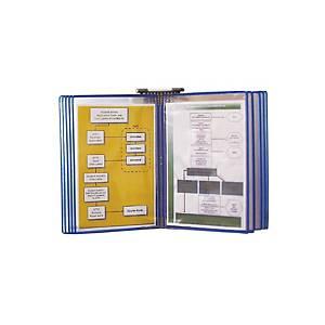 Pack de 10 micas para classificador de parede Tarifold - A5 - azul