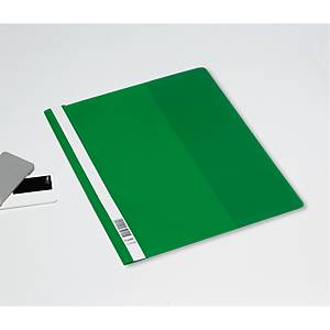 Hurtighefte Bantex, A4+, grønn, pakke à 25 stk.