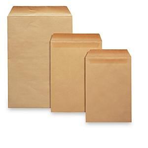 Lønningspose Bong 4P, 95 x 145 mm, brun, pakke a 500 stk.