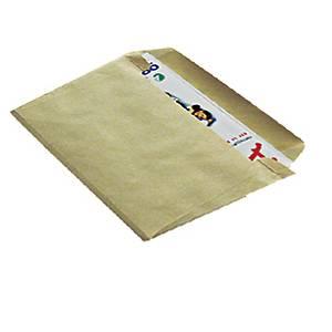 Arkivkonvolut ProPac C4, 229 x 324 x 25 mm, 135 g, gul, pakke a 100 stk.