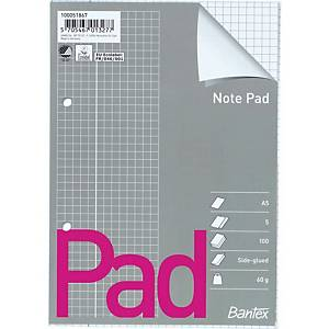 PAD SIDEGLUED A5 SQUARED 2 PUNCHED