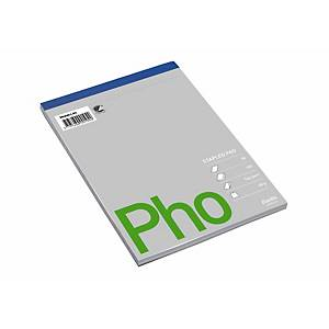 PAD TOP PERFORATED A5 PLAIN