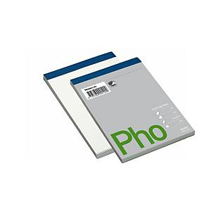 PAD TOP PERFORATED A6 PLAIN