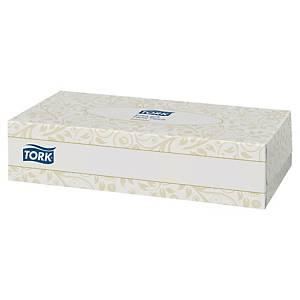 Mouchoir en papier Tork - boîte distributrice rectangulaire de 100 mouchoirs