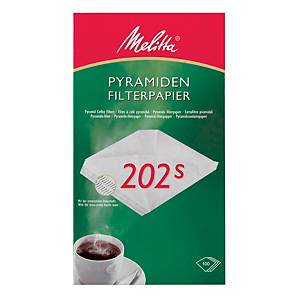 Kaffeefilter Melitta 202, für Melitta M171 MT, 100 Stück