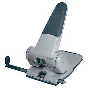 Hullemaskin Leitz 5180, 2 hull, sort/grå