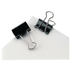 Foldback clips Lyreco, 51 mm, æske a 12 stk.