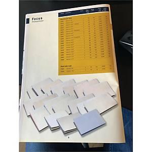BX2500 12016 LIST PAPER 8,5 X375 BRW