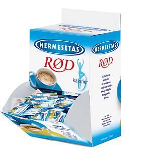 Sødetabletter Hermesetas, karton a 1.000 pakker x 2 tabletter