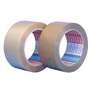 Fita adesiva de embalar Tesa 4100 - 50 mm x 66 m - PVC - transparente