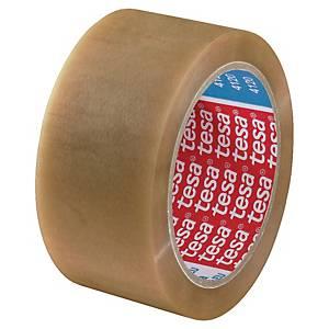 Tesa 4120 packaging tape 50mmx66m PVC clear
