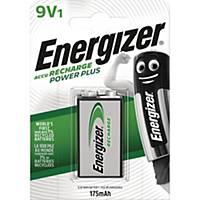 Genopladeligt batteri Energizer NIMH 9V