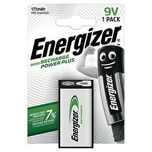 Energizer RC22 Power Plus 9V oplaadbare batterij, 175 mAh