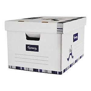 Karton archiwizacyjny LYRECO  z przykrywką 452x320x263 mm