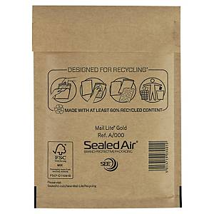 Buste a sacco imbottite Sealed Air Mail Lite® 11 x 16 cm avana - conf. 100