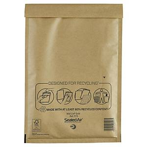 Mail Lite Gold Postal Bags F3 220X330mm Box of 50