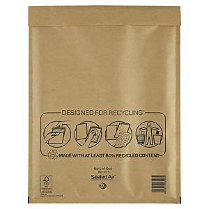 Bublinková obálka SealedAir Mail Lite® Gold, 270 x 360 mm, hnedá, 50 kusov