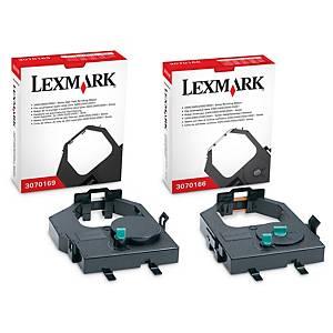 Cinta matricial de nailon Lexmark 11A3540 - negro