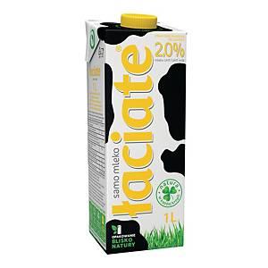 Mleko ŁACIATE UHT 2,0%, 1 l