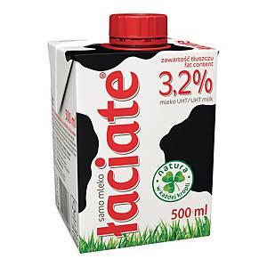 Mleko ŁACIATE UHT 3,2%, 0,5 l
