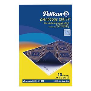 PACK 10 SH HANDWRITING CARBON PAPER A4