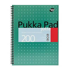 Pukka Jotta Notepad A4 100-Sheet Green - Pack Of 5