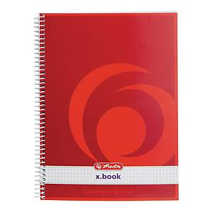 NOTEBOOK SPIRAL COLLEGE A5 80 QUADRILLE