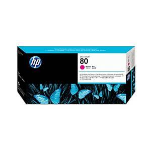 HP tisková hlava 80 (C4822A), magenta