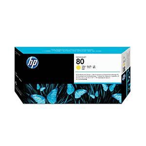 Testina inkjet HP N.80 C4823A 2.5K giallo