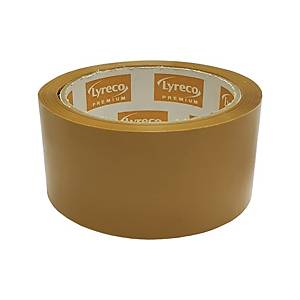 Lyreco Premium OPP Packing Tape 2  x 45yd Brown