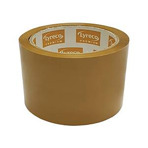 Lyreco Premium 啡色封箱膠紙 2.5吋 x 45碼