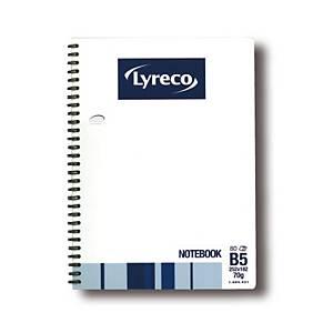 Lyreco 雙線圈筆記簿 B5 - 每本80張紙