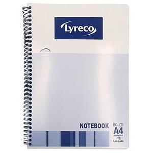 Lyreco 雙線圈筆記簿 A4 - 每本80張紙