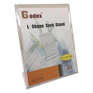 GODEX L-shape Display Stand A4